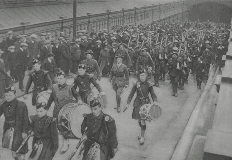 The Return Of The 4th Royal Scots In Edinburgh After The War