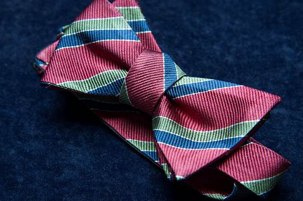 RSC self-tie silk bow ties