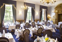 Festive dining in The Abercromby Dining Room