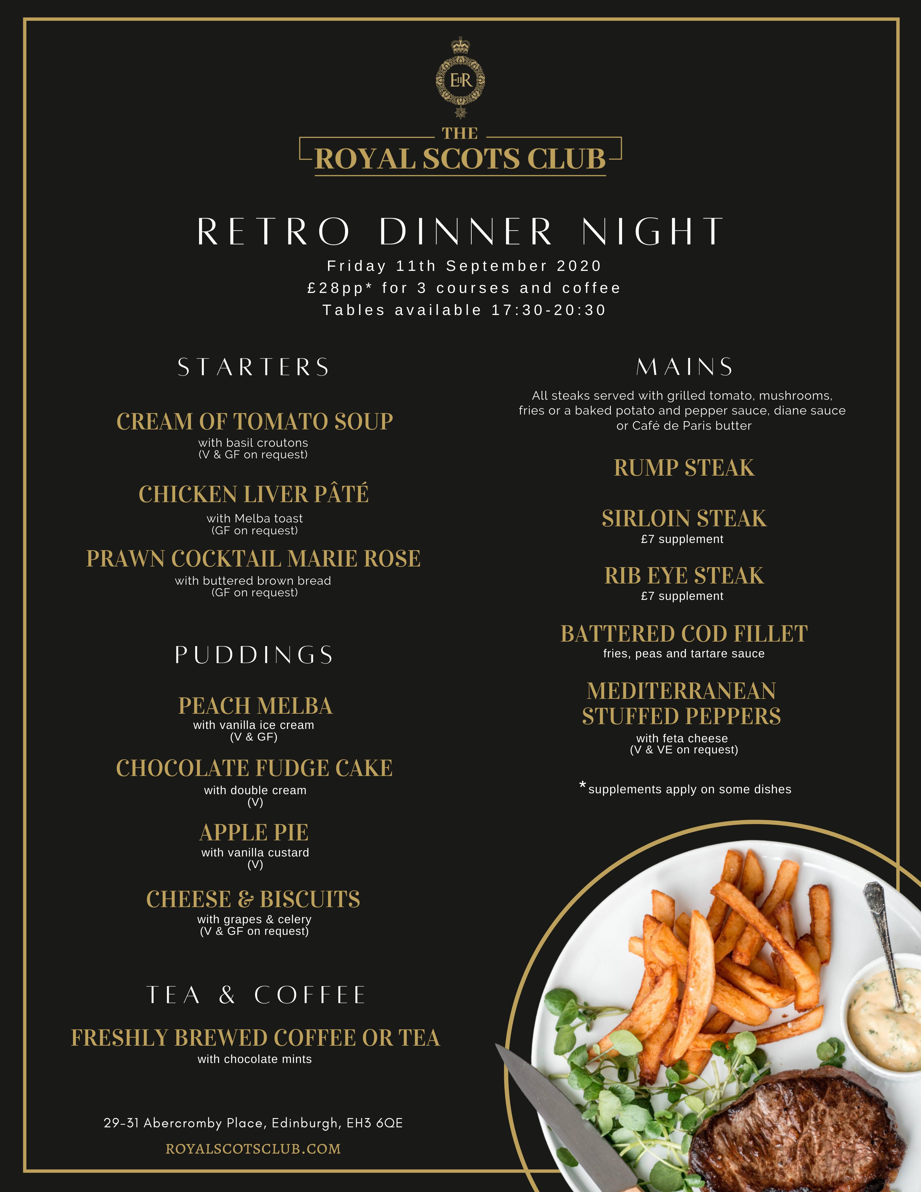 Retro Dinner Nights